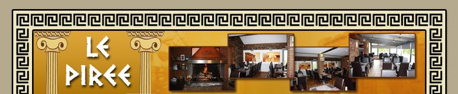 le piree restaurant grec ath belgique restaurant. Black Bedroom Furniture Sets. Home Design Ideas